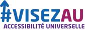 Logo VISEZ AU Accesibilité Universelle