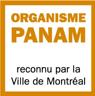 Logo Organisme PANAM reconnu par la ville de Montréal