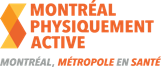 Logo Montréal physiquement active