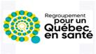 Logo Regroupement pour un Québec en santé