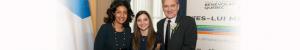 Prix de reconnaissance avec Mme Dominique Anglade, Marine Gailhard et Daniel Vézina