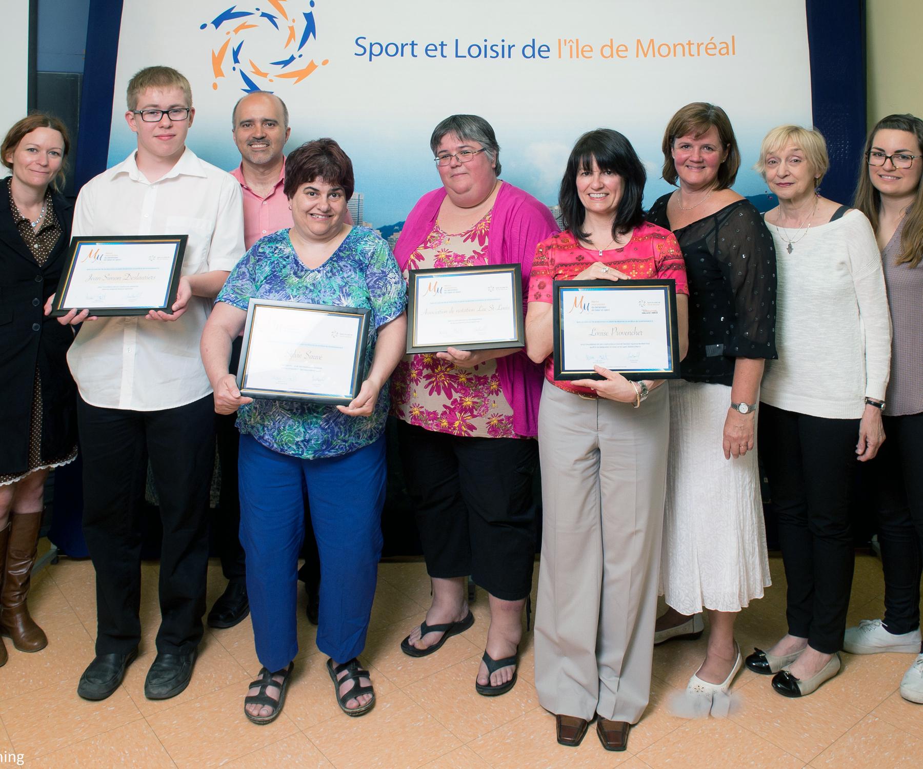 Soirée de «Mérite montréalais du bénévolat en sport et loisir - 2014