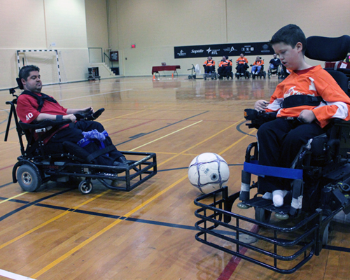 powerchair soccer